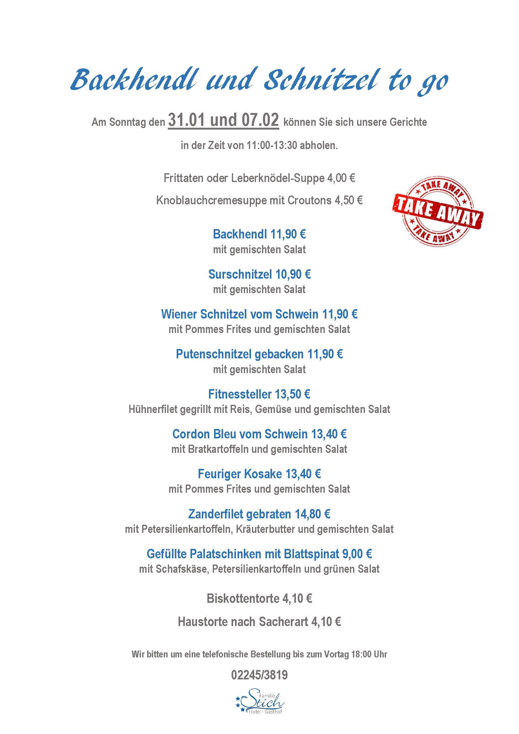 schnitzel Backhendl to go